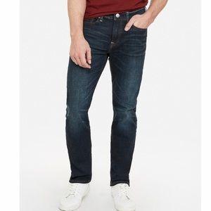 Express Men's Slim Straight Stretch Jeans